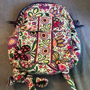 Vera Bradley mini back pack